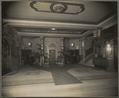 Savoy Cinema post completion : view of lobby