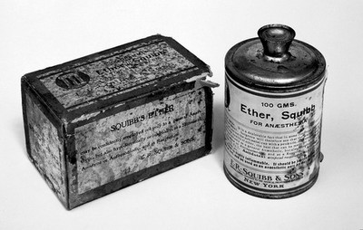 Anaesthesia: Ether can, c.1930
