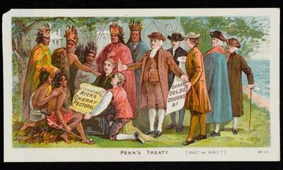 Ayers Cherry Pectoral, Penns Treaty