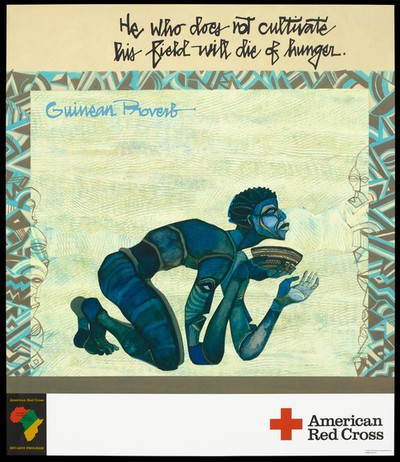 Ethiopian proverb rep American Red Cross HIV program