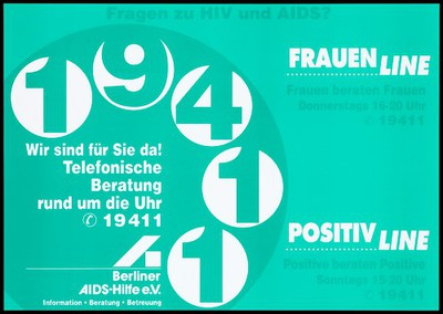 helpline run by Berliner AIDS-Hilfe for women with HIV