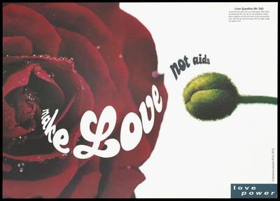 Safe sex AIDS prevention advert by Folkhälsoinstitutet