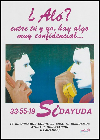 AIDS helpline for gay men in Peru
