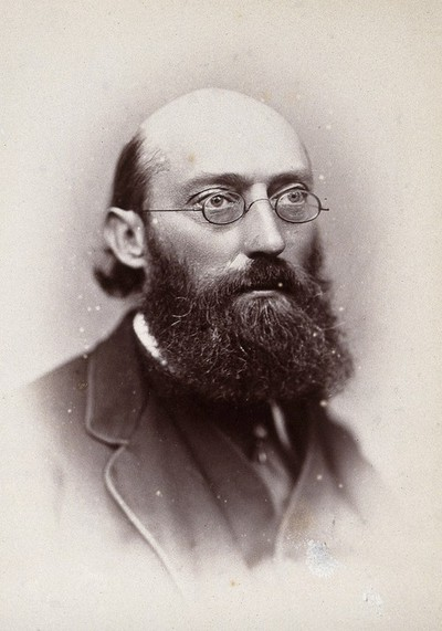 Sir George Buchanan. Photograph by G. Jerrard, 1881.