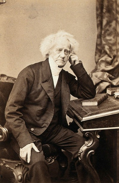 Sir John Herschel. Photograph by Maull & Polyblank.