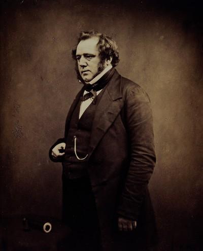 Edwin Lankester. Photograph by Maull & Polyblank.