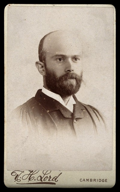 Sir Charles Waldstein [Walston]. Photograph by R. H. Lord.