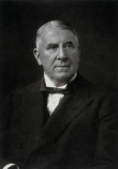 Berkeley Moynihan, Baron Moynihan. Photograph.