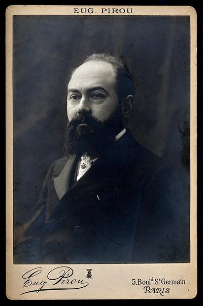Pierre Janet Marie Felix. Photograph by Eug. Pirou.