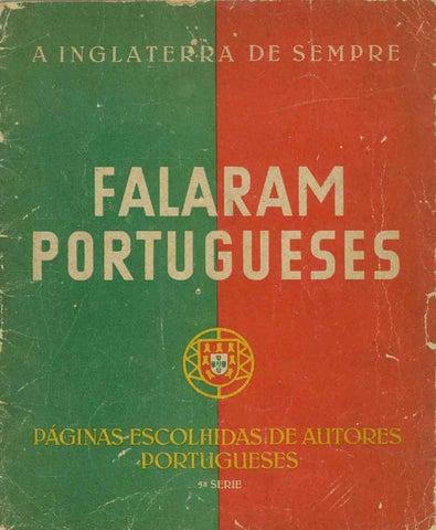 A Inglaterra de sempre: falaram portugueses