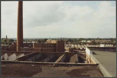 Sloop jutefabriek Ter Horst in 1991