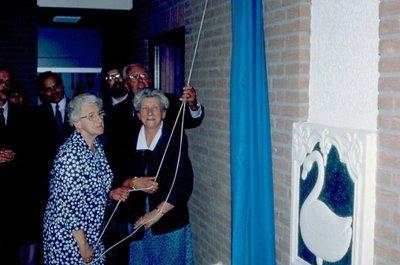 Bouw van het gemeentehuis op de Smidsbelt
