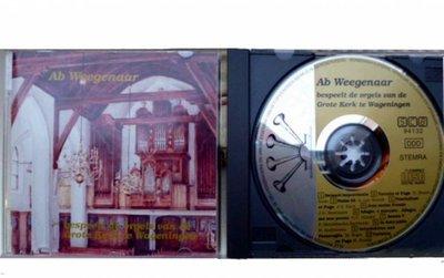 CD Ab Weegenaar bespeelt de orgels van de Grote Kerk te Wageningen ; 1993