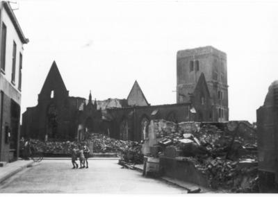 Markt NH_kerk Rouwenhofstraat zuid