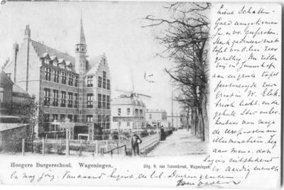 Rijksstraatweg HBS Wagenings_Lyceum Wilhelminaweg west