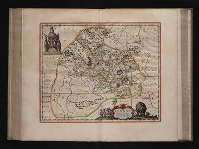 Seste deel van de Nieuwe Atlas oft Toneel des Aerdrijcx, uytgegeven door Joan Blaeu