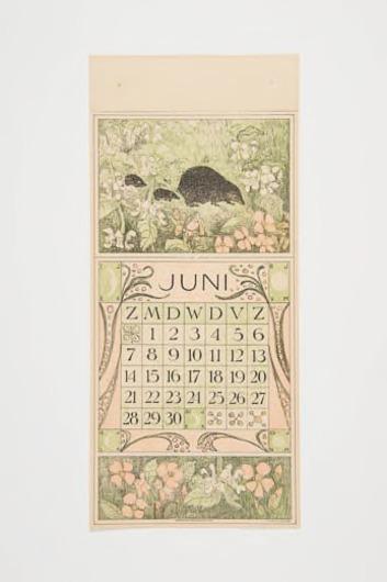 Kalenderblad juni 1914