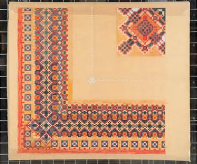 Ontwerp voor tapijt