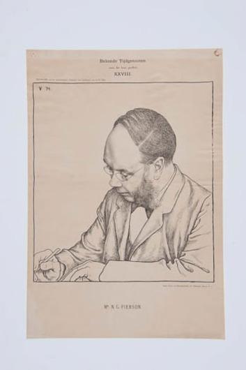 Portret mr. N.G. Pierson