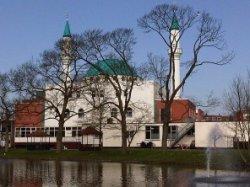 De Turkse moskee aan de Dr. Schaepmansingel 5