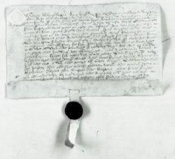 Akte van transport ten overstaan van schout en schepenen van Kethel door Arien Jansz. aan de Heilige Geestmeesters van een losrente van f 10, 1650. Inventarisnummer 281 van           het archief van het Heilige Geest Armenfonds (toegangsnr. 368)