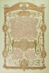 Oorkonde voor het 25-jarig jubileum van A. Visser Nz. als commissaris van het Zakkendragersgilde, voorzien van de namen van de leden van het gilde, van de hoofdlieden en van           de hoofdlieden van de graanmeters en van de kolenmeters. Vervaardigd door M. v.d. Burgh, afkomstig uit het Zakkendragershuisje.