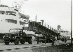 Transport bovenloopkraan voor de G hal.