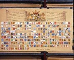 De leden van de vroedschap, het 24 leden tellend algemeen bestuur van de stad, benoemde de landsheer voor het leven. Dit zijn de wapens van de vroedschapsleden vanaf           1528.