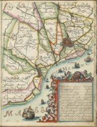 Kaartboek van de hoogheemraadschappen van Rijnland, Delfland, Schieland, gemeten en in kaart gebragt door Mr. Floris Balthasar