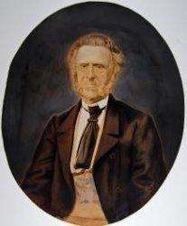 Portret van Hendrik Adriaan Roelants (Schiedam 9 augustus 1798-20 december 1864), apotheker en vanaf 1852 directeur van de Nutsbewaarschool. Mogelijk een postuum portret           naar litho.