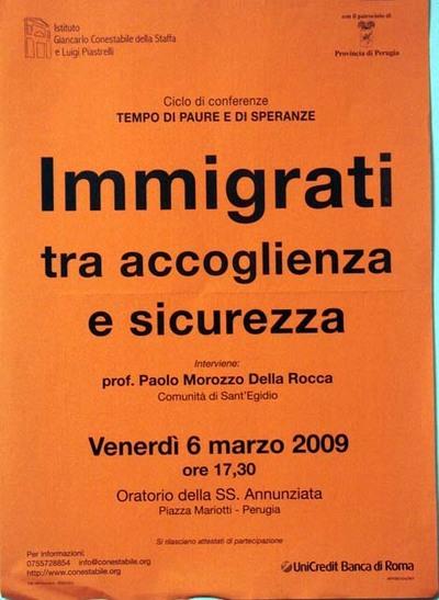 Immigrati: tra accoglienza e sicurezza