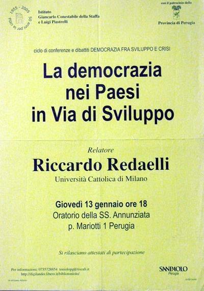 La democrazia nei Paesi in via di sviluppo