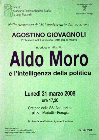 Aldo Moro e l'intelligenza della poltica