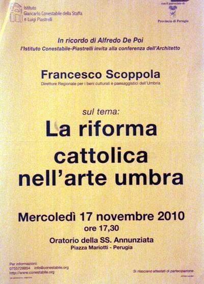 La riforma cattolica nell'arte umbra