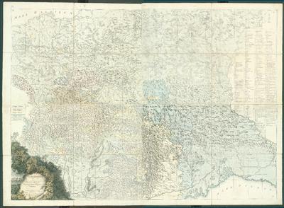 Carta geologica totius Poloniae, Moldaviae, Transilvaniae et partis Hungariae, et Valachiae. Inventa per Staszic anno 1806