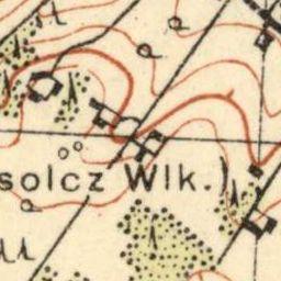 Mapa taktyczna Polski : pas 31, słup 40 : Olkieniki Wschód