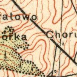 Mapa taktyczna Polski : pas 31, słup 42 : Oszmiana