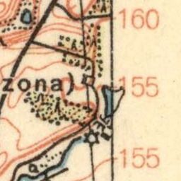 Mapa taktyczna Polski : pas 33, słup 24 : Biały Bór (Baldenburg)