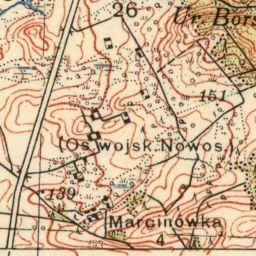 Mapa taktyczna Polski : pas 35, słup 39 : Mosty