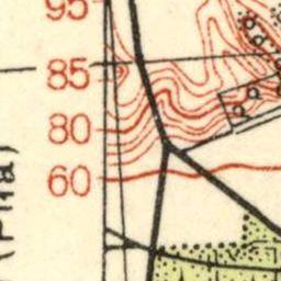 Mapa taktyczna Polski : pas 36, słup 25 : Nakło