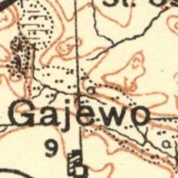 Mapa taktyczna Polski : pas 36, słup 28 : Dobrzyń nad Drwęcą