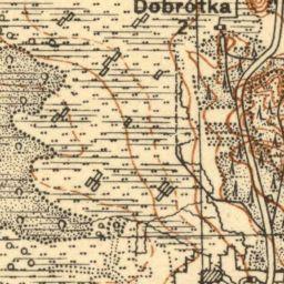 Mapa taktyczna Polski : pas 36, słup 31 : Mława