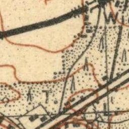 Mapa taktyczna Polski : pas 42 : słup 28 : Łask-Zduńska Wola
