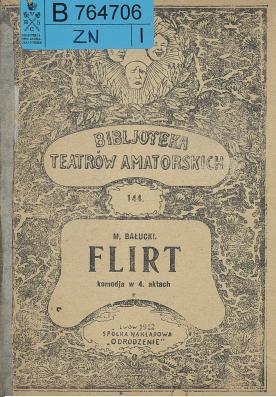 Flirt : komedja w 4 aktach