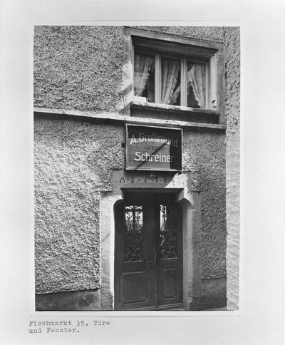 Fotografie | Liestal, Gerberstrasse 17, Türe