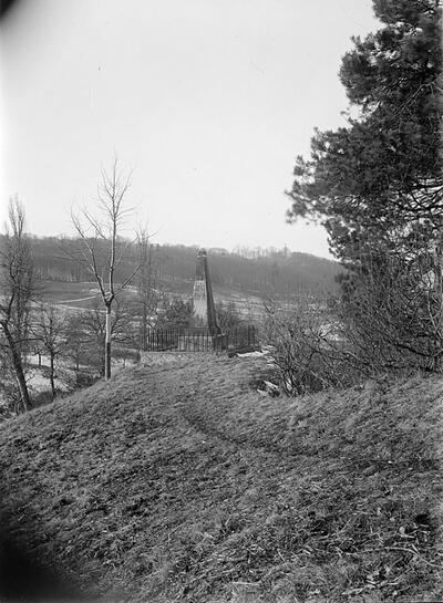 Fotografie   Frenkendorf, Hülftenschanz-Denkmal