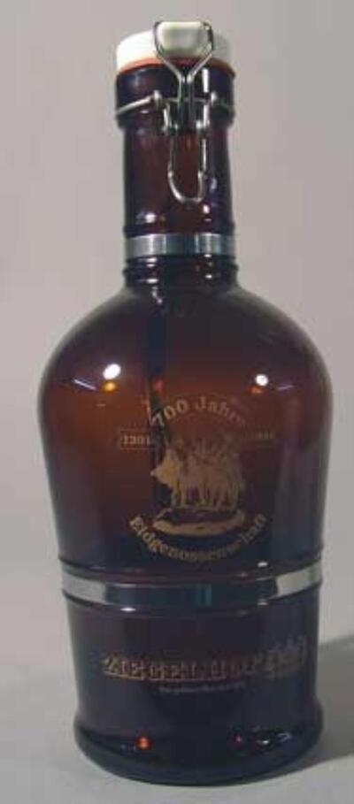 ZIEGELHOF Zwickel-Bier-Flasche 2 Liter