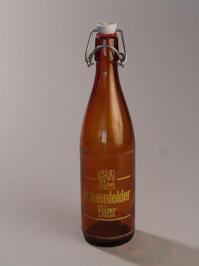 Bierflasche FRAUENFELDER BIER