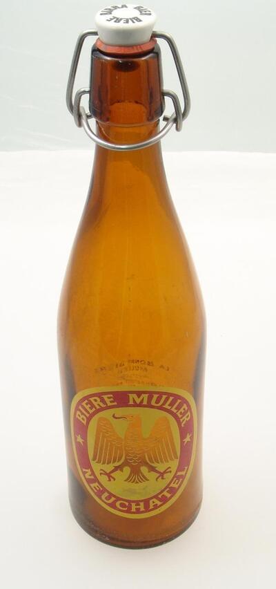 Bierflasche BIERE MULLER NEUCHATEL