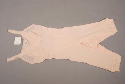 Hemdhose mit angenähter Büste und offenem Schritt, für Damen